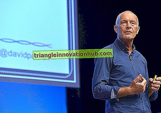 Keynoter af en tale om verdens biomer - tale