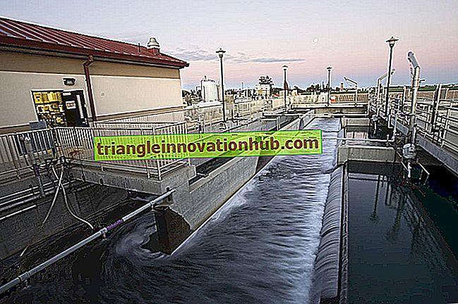 Spildevandsbehandling: Essay on tertiary or Advanced Wastewater Treatment - affaldshåndtering